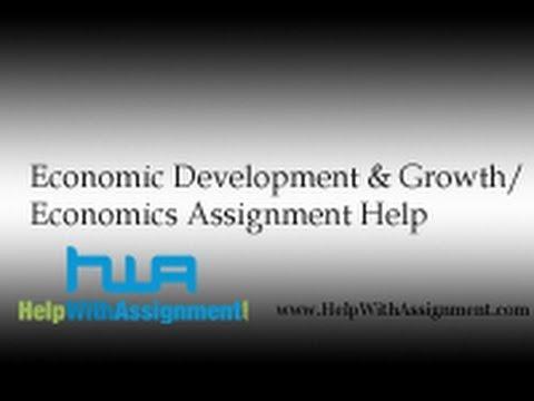 Economic assignment help