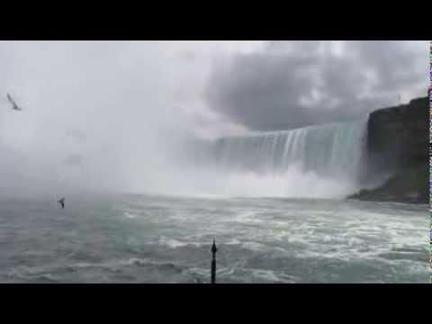 Maid Of The Mist And Niagara Falls, Canada