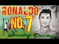 CR7 Ronaldo s sketch easy steps 10S WITH SUBEER