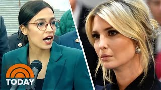 Alexandria Ocasio-Cortez And Ivanka Trump's Twitter Feud About Green New Deal | TODAY