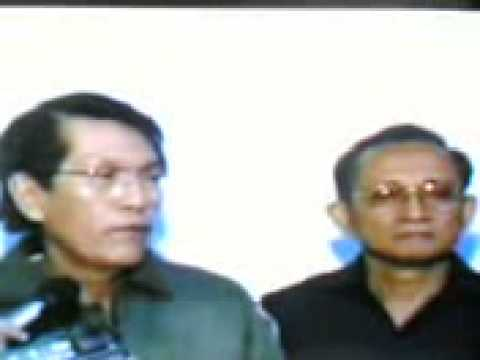 Secretary of National Defense Juan Ponce Enrile - Marcos resign