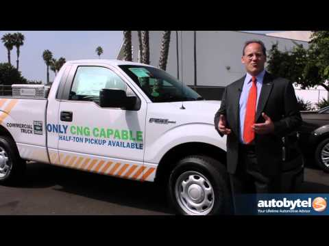 2014 Ford F-150 CNG Debut at AltExpo compressed natural gas alternative fuel pick up truck video