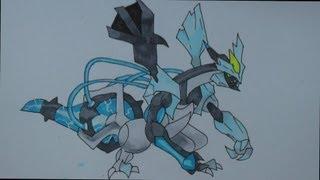 How To Draw Pokemon: No.646 Black Kyurem