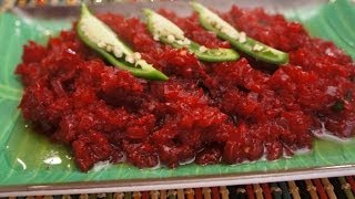 Ethiopian Food - Vegan Beets or Beetroot Recipe