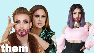 Nico Tortorella Gets a Drag Makeover from Trinity Taylor | Drag Me | them.