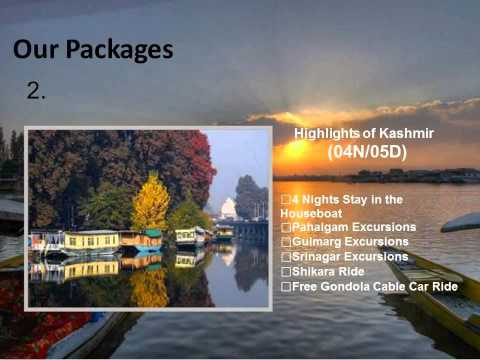 Kashmir houseboats Tours, Kashmir packages, Kashmir Tourism