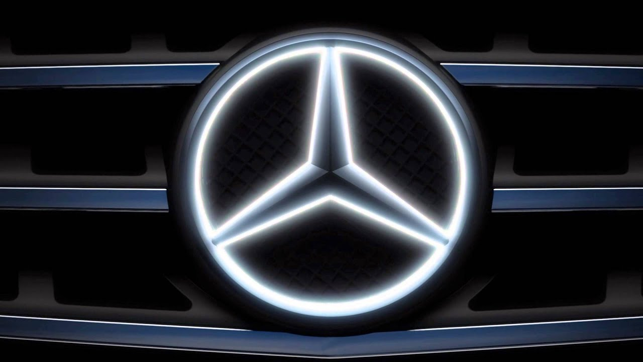 The illuminated star mercedes benz accessories youtube for Mercedes benz led star