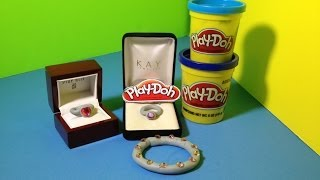 Play Doh How To Make Play-Doh Rings And Jewelry From