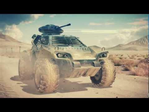 Лонч-трейлер Metal War Online