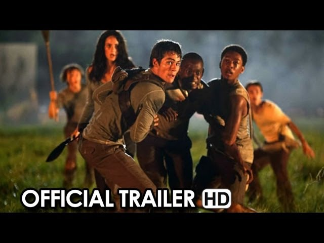 The Maze Runner Official Trailer #1 (2014) HD
