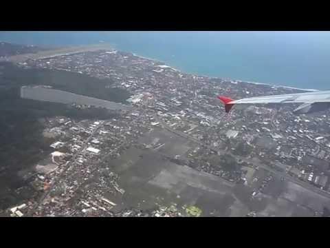 Take Off From Denpasar Bali with AirAsia to Soekarno Hatta, Jakarta, 07.20.2011