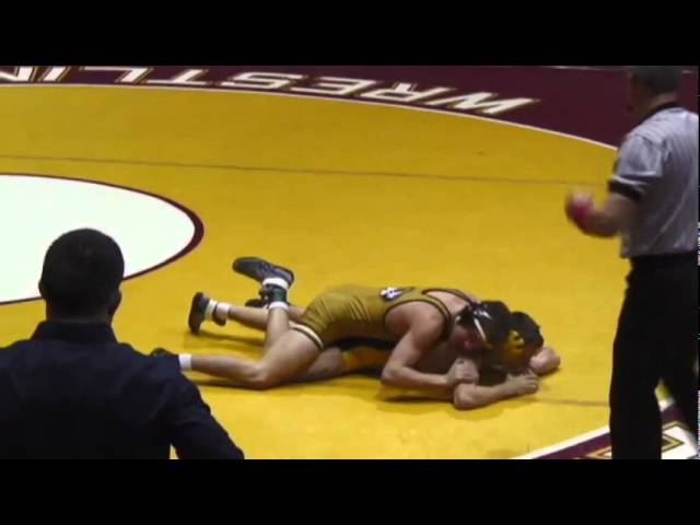 125- Alan Waters (Mizzou) vs. Nic Bedelyon (Kent State)
