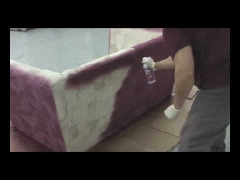 Paint A Couch Or Sofa With Upholstery Spray Fabric Paint