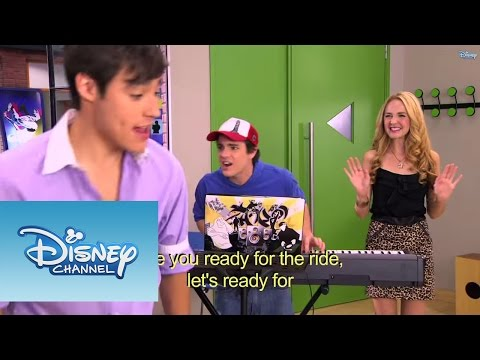 Violetta - Os meninos cantam ¨Are you ready for the ride¨