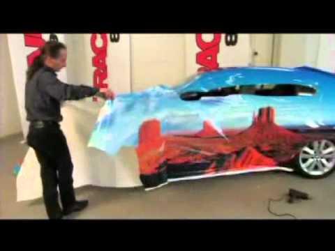 Auto Trim Design Vehicle Wrap Film Application