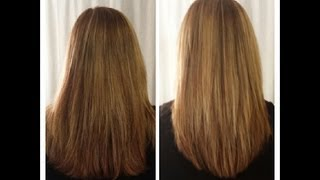 How To Cut Your Own Hair In Long Layers ~ Easy Hair Cut