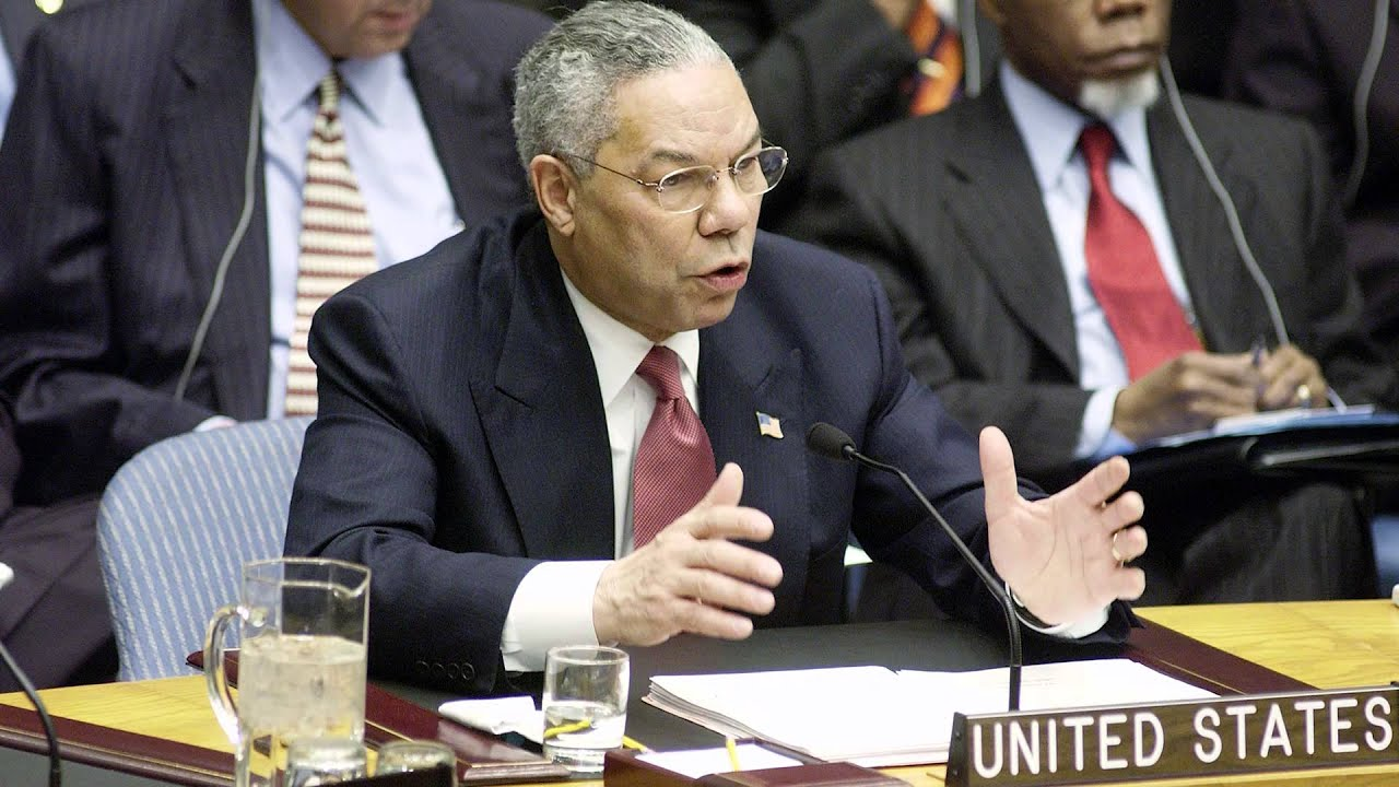 Colin Powell: Spring 2014 Convocation Lecture