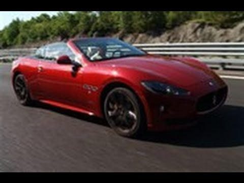 Maserati GranCabrio Sport video review feature by autocar.co.uk