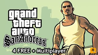 How To Get GTA San Andreas + Multiplayer For FREE PC