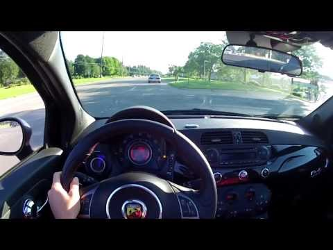 2013 Fiat 500C Abarth Cabrio - WINDING ROAD POV Test Drive