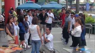WEDDING PROPOSAL BY LPP MOB DANCERS