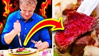 10 Times Gordon Ramsay Had NASTY STEAK (Kitchen Nightmares)