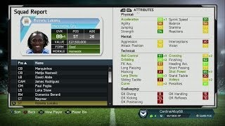 FIFA 14 Career Mode AMAZING YOUTH TEAM Best High