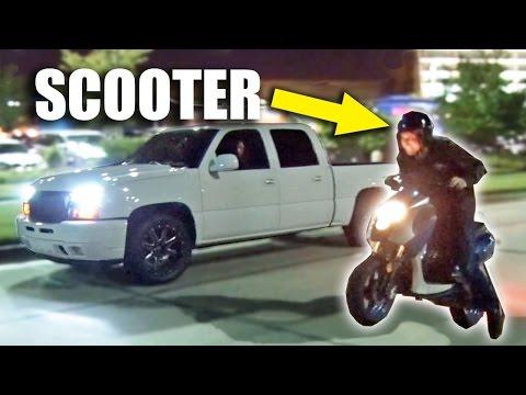 SLEEPER Scooter Goes Street Racing