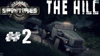 Spintires 2014 Off Road Simulator Hardcore Walkthrough THE HILL Off Road with a Trailer Part 2