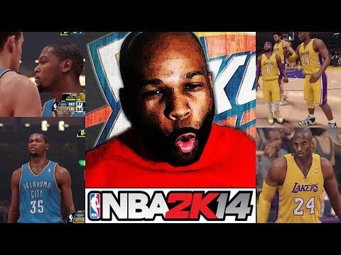 NBA 2K14 My Career w/ Face Cam - Epic Battle vs. OKC Thunder (NBA 2K14 PS4) (NBA 2K14 Next Gen)