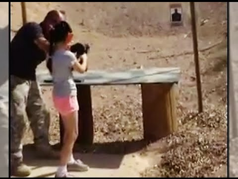 9-Year-Old Accidentally Kills  With Automatic Weapon