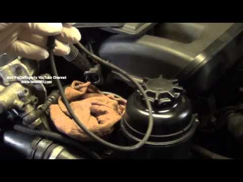 BMW P0344 P0340 Intake Camshaft Position Sensor Fault  DIY Full Removal and Installation Procedure