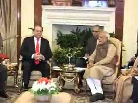 PM Modi holds talks with Pakistan PM Sharif
