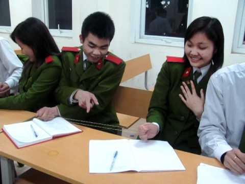Bài tập tại lớp KN GT@TT Học Viện Cảnh Sát Nhân Dân