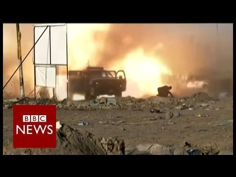 """""""A matter of life and death."""" Iraq braces for elections - BBC News"""