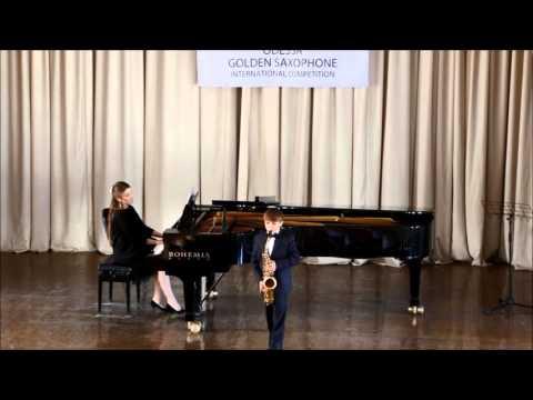 Golden Saxophone 2015 – Feodosiy Medvedenko – Ferrer Ferran Sonatina Bagira
