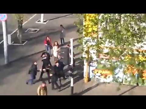 Драка в центре Оренбурга - drakoff.ru