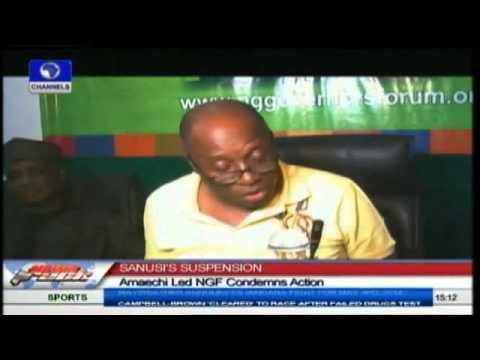 Sanusi's Suspension: Amaechi Led NGF Condems Action