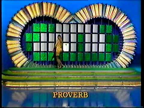 wheel of fortune uk with carol smillie and nicky campbell. Black Bedroom Furniture Sets. Home Design Ideas