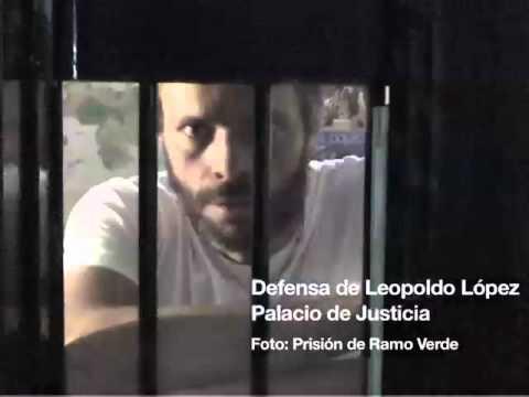 Palabras de Leopoldo López en el Palacio de Justicia