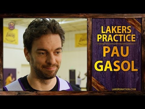 Lakers Practice: Pau Gasol On Kobe Bryant's Comment's Toward Management