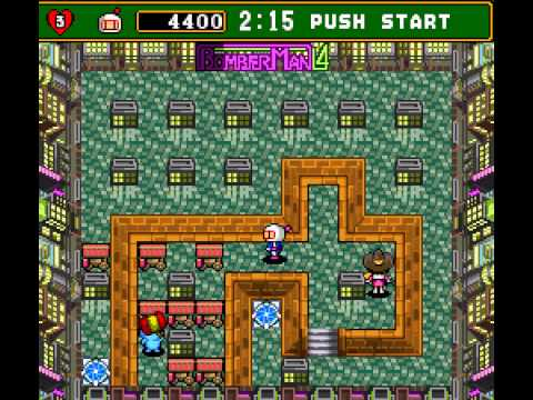Super Bomberman 4 (english translation) - Death by Teddy Bear - User video