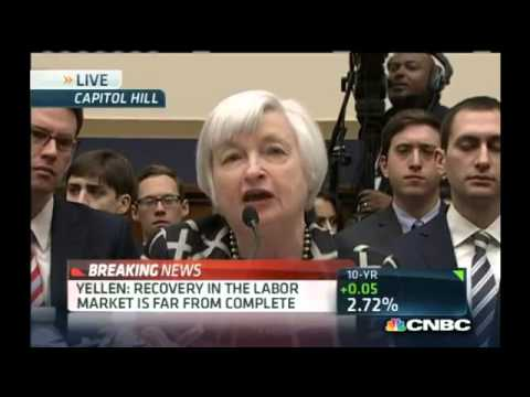 Yellen  Labor recovery 'far from complete'