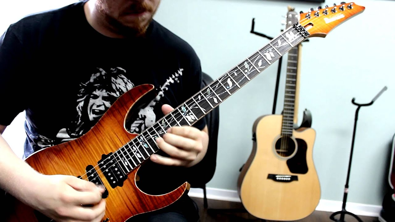 Andy James Guitar Academy Dream Rig Competition - Chris ...