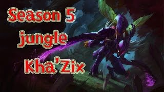 [PBE영상]LOL Season 5 Jungle Play Kha'Zix