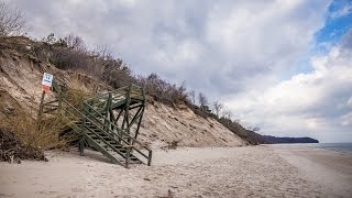 Poprawi się komfort, wygląd, a przede wszystkim bezpieczeństwo zejścia na plażę na wysokości ul. Z