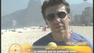 Martha Vigil Entrevista Adrian Uribe, En Brasil