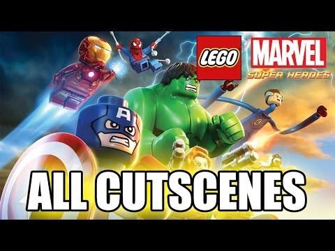 LEGO Marvel Super Heroes (2013) All Cutscenes TRUE-HD QUALITY