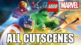 LEGO Marvel Super Heroes FULL MOVIE (2013) All Cutscenes