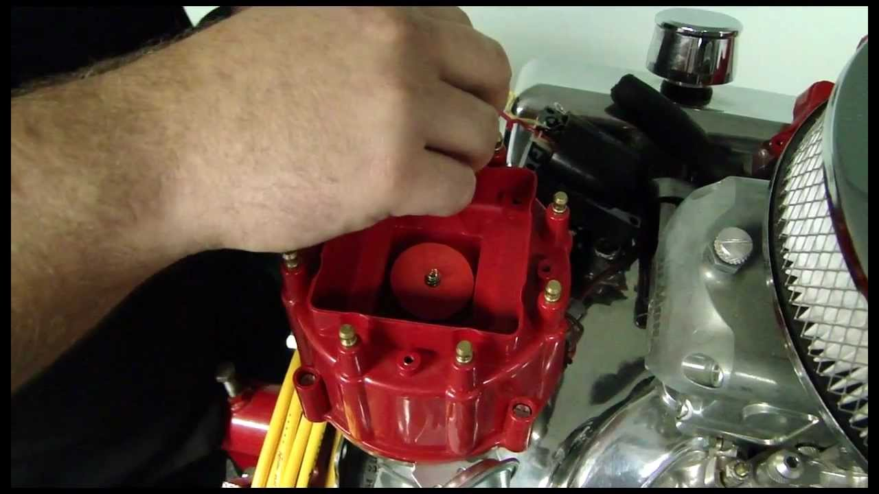 How to Install Accel    HEI    Corrected Distributor Cap Video  Pep Boys  YouTube